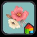 Blossom LINE Launcher theme