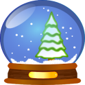 Christmas Stickers Doodle Text
