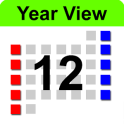 Year View Calendar & Widget