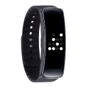 Binary V Clock for Gear Fit