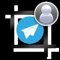 Profile w/o crop for Telegram