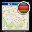 Deutschland offline Karte POI