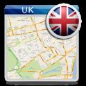 Inglaterra UK Offline Mapa
