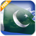 3D Pakistan Flag Live Wallpaper