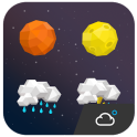 Star style weather iconset
