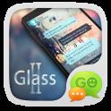GO SMS PRO GLASS II THEME