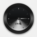 Black Clock Widget