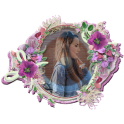 Flower Photo Frames for Girls