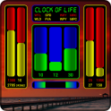 Clock of Life (red sunset) LWP