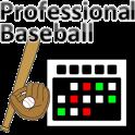 Profesionnal Baseball Calendar