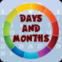 Days & Months Flashcards