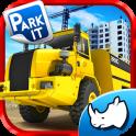 Hard Mining Truck Drive & Park
