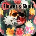 वॉलपेपर और आइकन Flower Skull