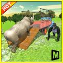 camion de transport:zoo animal