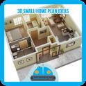 3D Small Home Plan Ideas