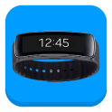 FitOn | Gear Fit's screen on