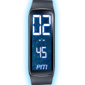 Gear Fit Digital LED Clock