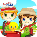 Детская ферма дошкольного Игры