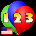 123 Ballon Numbers Kids