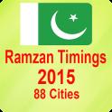 Pakistan Ramzan Timings 2015