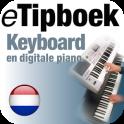 eTipboek Keyboard en dig piano