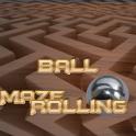 Maze rolling ball
