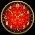 Виджет старинные часы