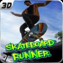 Super SkateBoard Runner 3D