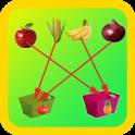 Kids Fruits Sorting Game