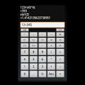 FnCalc ボタンに式の割り当てが可能な履歴付き電卓