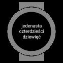 Polish Text Watch