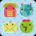 mokeke-Cute Charactor Icon+WP