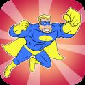 Superhero Kids Coloring Games