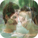 Waterfall Photo Frame Editor