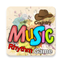 Music Rhythm Game Country