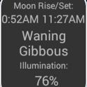 Moon Widget and Calendar