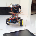 Robot Mira Laser Shoot HC-SR04