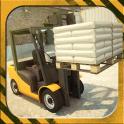 3D Forklift Simulator Parking Games 2018