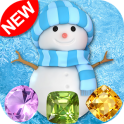 Snowman Games & Frozen Puzzles match 3 games free