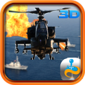 Gunship Helicopter Air Strike