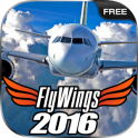 FlyWings Flight Simulator X 2016 Free
