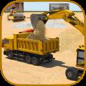 Offroad Construction Excavator