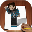 How to Draw Minecraft 3D
