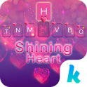 Shining Heart Keyboard Theme