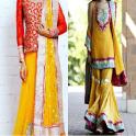 Mehndi Dresses for 2017-2018