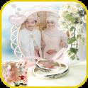 Bridal Hijab Photo Montage