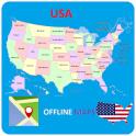Mapas de Estados Unidos