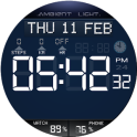 Ambient Light Watch Face Free