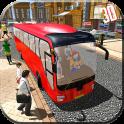 Commercial Bus Public Driving