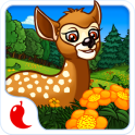 Tiere im Wald - Kinder Puzzle